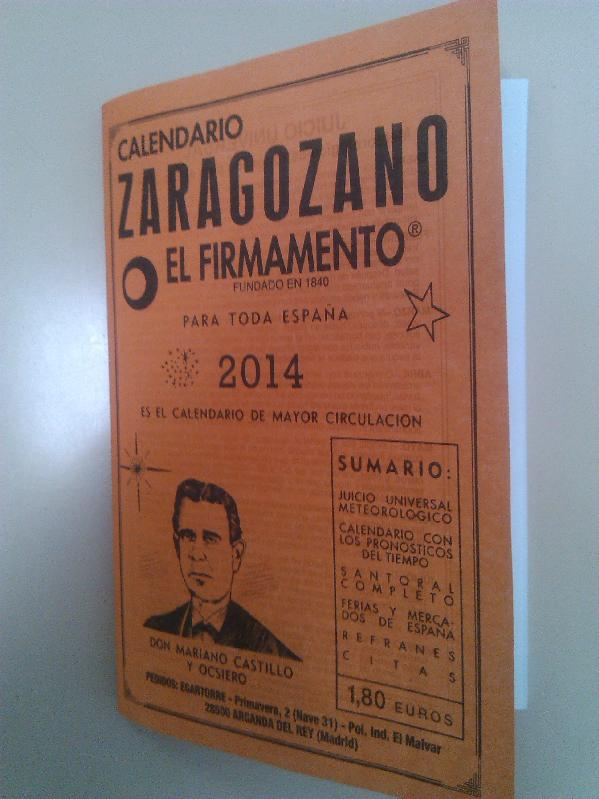 Calendario Cabanuelas.El Calendario Zaragozano Las Cabanuelas Y Las Temporas