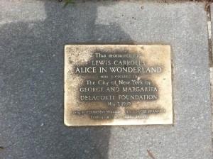 Placa Escultura José de Creeft en Central Park