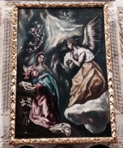 Anunciación Greco