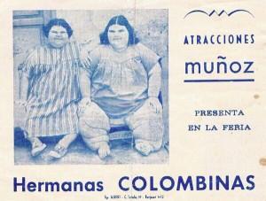 Foto Hermanas Colombinas (Ferias Gu años 60) (1)
