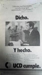 Cartel UCD elecciones 1979