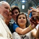 selfie papa francisco
